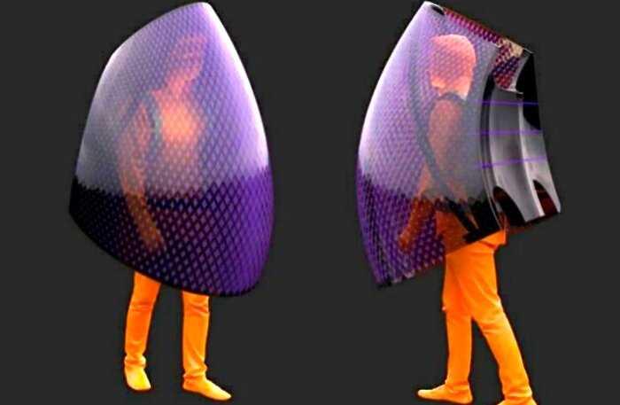 «100% защиты»: китайский архитектор создал кокон против коронавируса