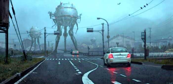 Австрийский художник воспроизводит наши кошмары на своих полотнах