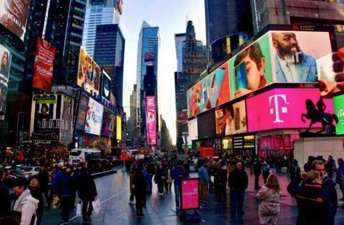 20 контрастных фото о том, как изменился Нью-Йорк из-за коронавируса