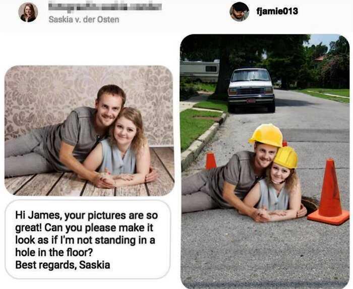 «Бойтесь своих желаний»: 10 примеров того, как известный фотошопер высмеивает клиентов