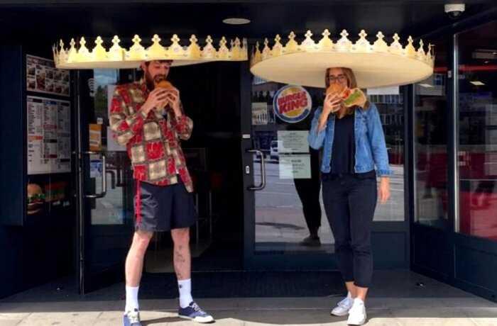 Burger King выпустила в Германии «короны» для соблюдения дистанции