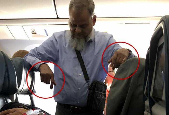 Пассажир простоял в самолёте 6 часов, чтобы дать жене выспаться, но их фото вызвало только жалость