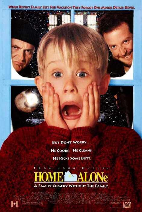 Маколей Калкин повторил знаменитую сцену из фильма «Один дома», надев для этого «кожу молодого себя»