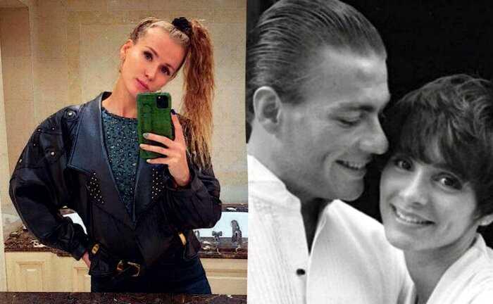 Сердце Ван Дамма похитила длинноногая украинка, с которой он уже 11 лет изменяет своей жене