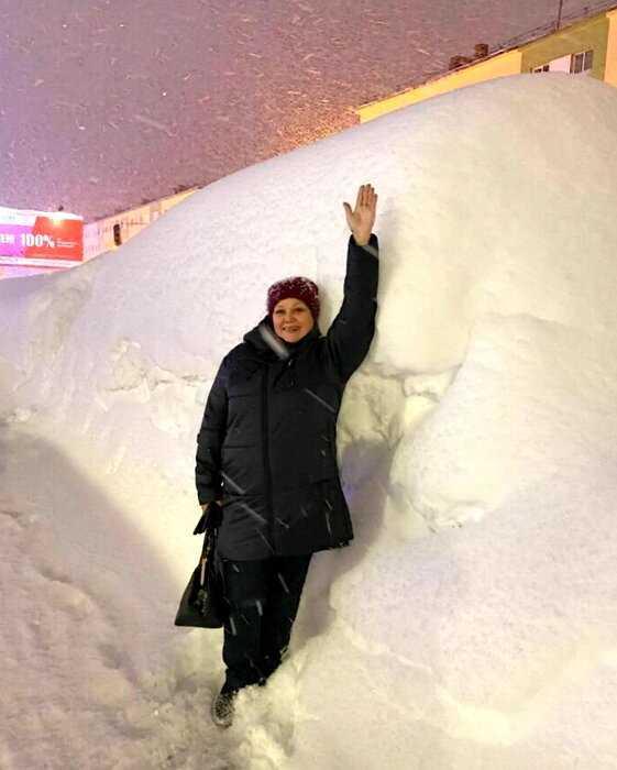 В Норильске за 5 дней выпала двухмесячная норма осадков и люди не могут выйти из дома и найти свои машины