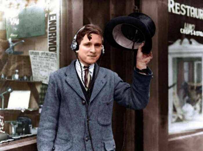 Ваш айфон ерунда, а вот радио-шляпа «Марсианин» в 1922 году было реально круто