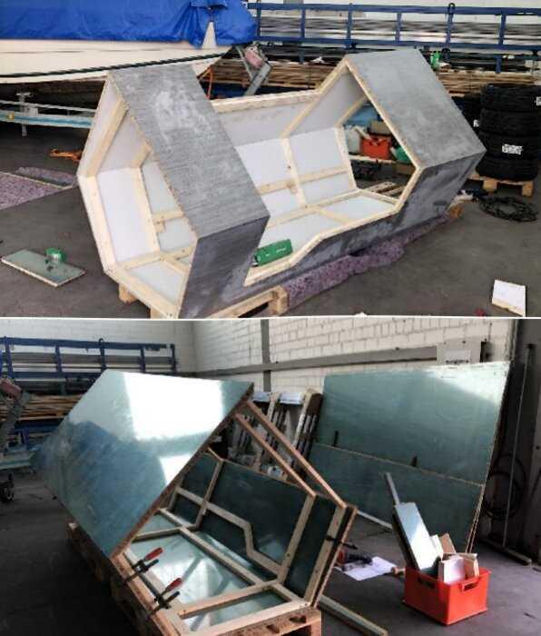 В Германии появились спальные капсулы для укрытия бездомных в холодные