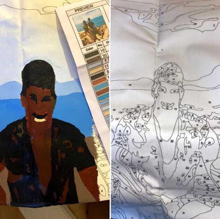 Девушка искала подарок для мужа, и решила подарить его портрет — то что получилось разрушит любой брак