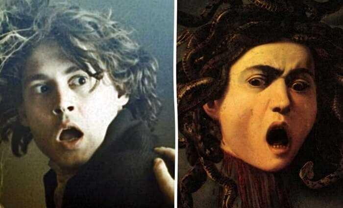 11 голливудских знаменитостей и их двойники на картинах Ренессанса