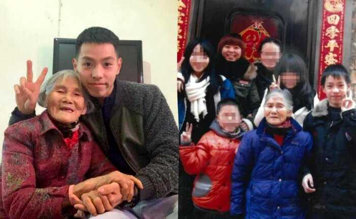 Сеть потрясло свадебное фото 85-летней жены и 24-летнего мужа, но за ним стоит трогательная история