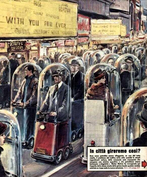 19 ретро-футуристических вещей из ХХ века, которые предсказали будущее, но немного ошиблись