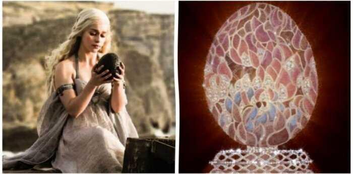 Фаберже создаст драконье яйцо как в «Игре престолов»