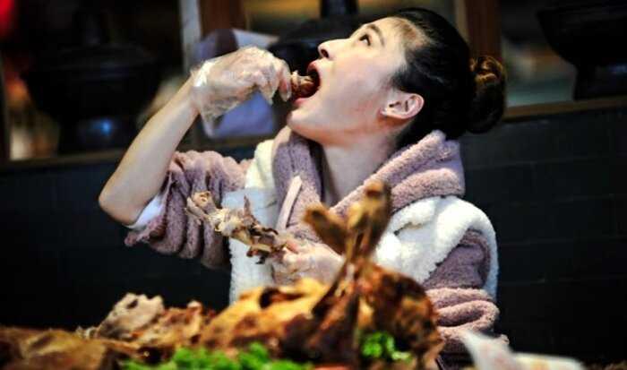 В Китае будут штрафовать тех, кто не доел еду ресторанах, кафе и прочих столовых