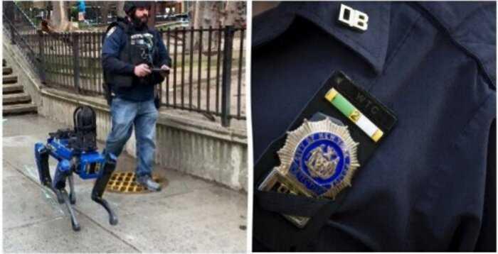 Робота-собаку уволили из нью-йоркской полиции за слишком футуристический вид