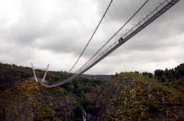 В Португалии открылся самый длинный подвесной мост в мире