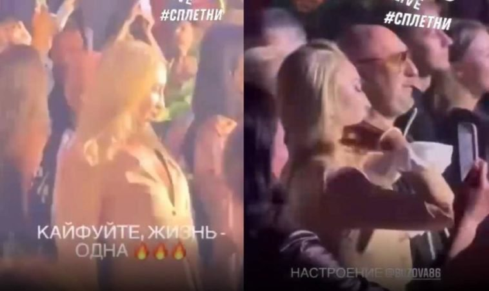 На видео попало, как Бузова танцует в неадекватном состоянии и еле держится на ногах, шокируя гостей