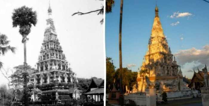 Снимки известных мест, которые со временем претерпели заметные изменения